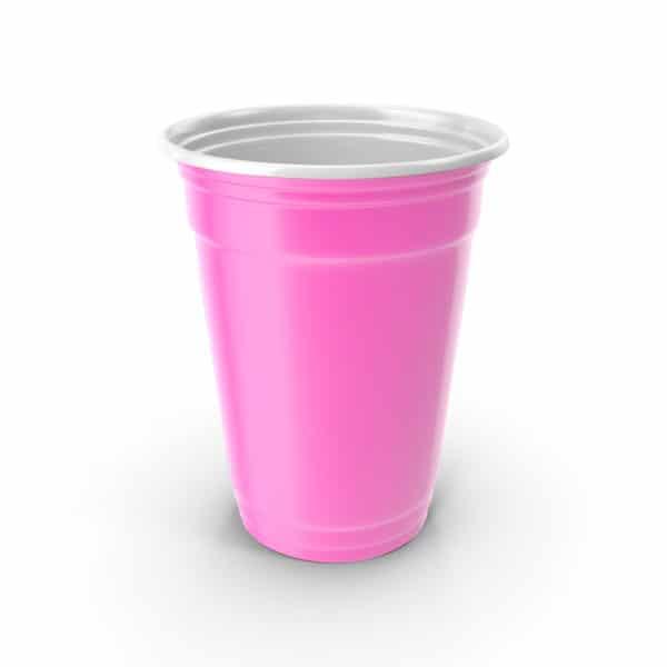 Cup beer pong pink