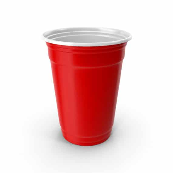 Gobelet Cups beer pong rouge