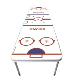 Beer pong Hockey table