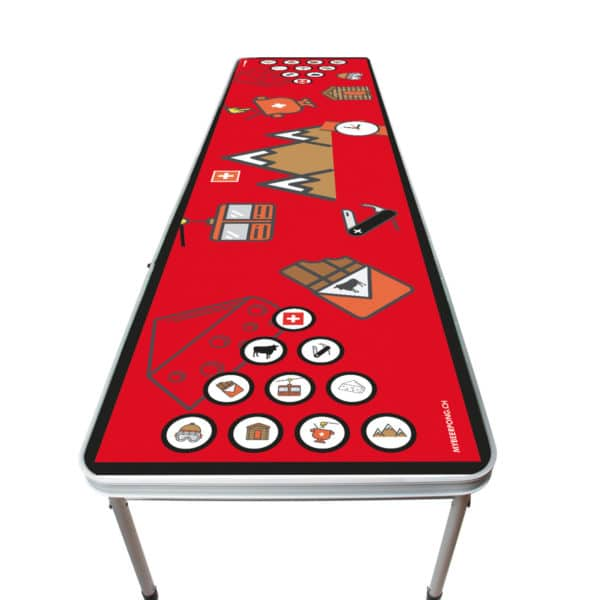 Tavoli da birra pong Svizzera