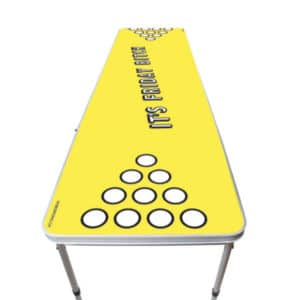 Weekend beer pong tables