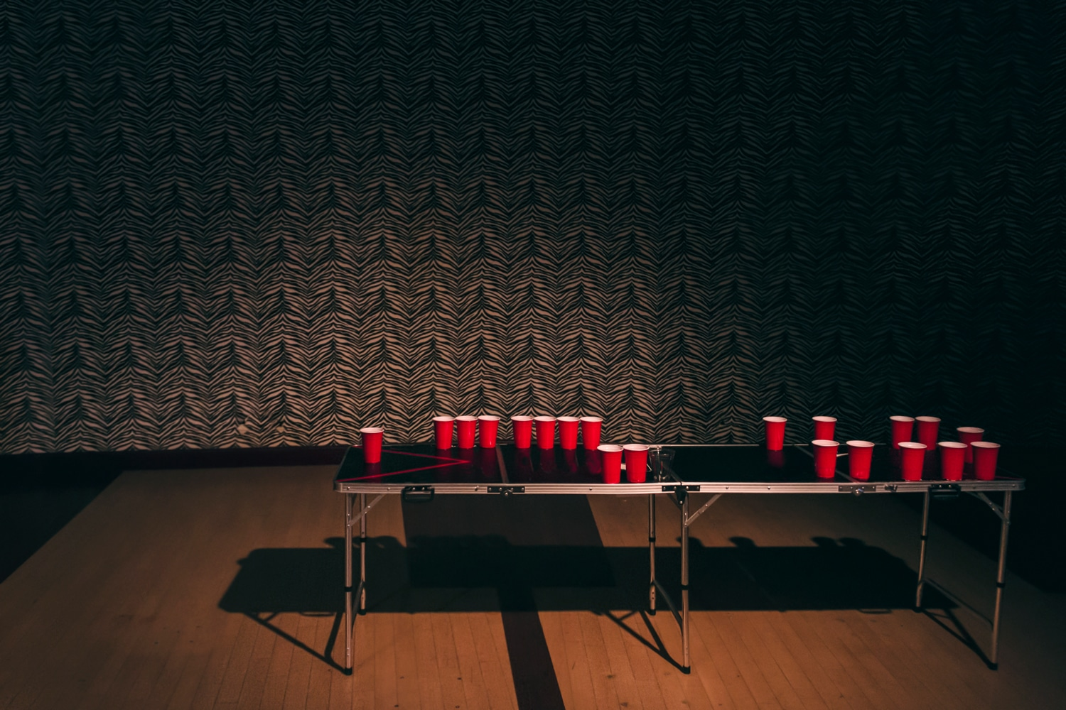 Red Cup Factory tables beer pong
