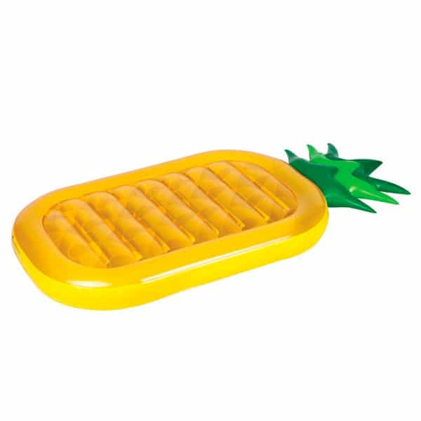 Boa gonfiabile all'ananas per feste in piscina