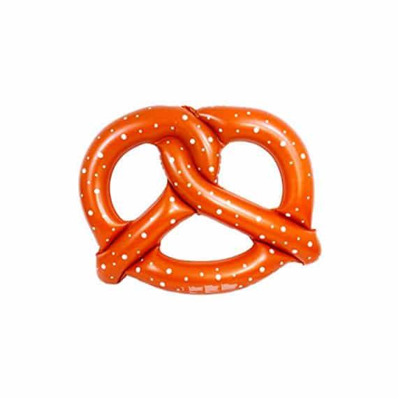 Boa gonfiabile di pretzel per feste in piscina